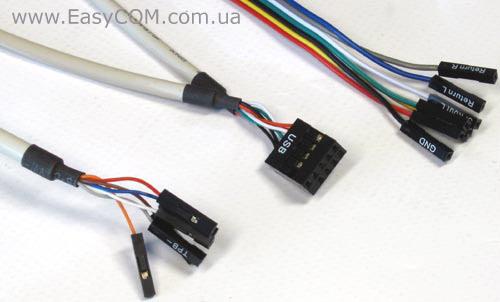 Коннектор от разъемов USB