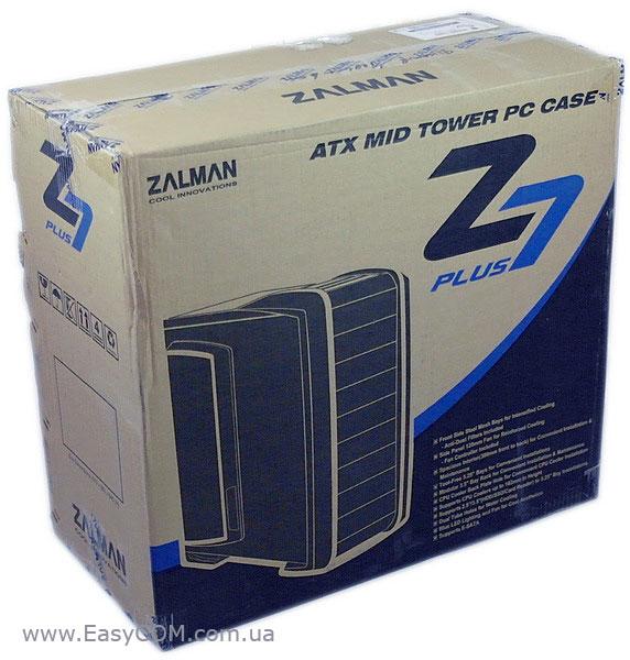 Zalman z7 plus вид упаковки