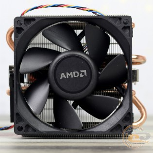 Near-silent 125W AMD Thermal Solution