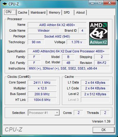 AMD ATHLON 64 X2 4600 64BIT DRIVER DOWNLOAD