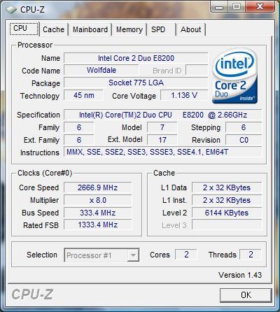 INTEL R CORE TM 2 DUO CPU E8200 DRIVERS FOR WINDOWS 10
