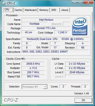 PENTIUM DUAL CORE CPU E5300 DRIVER