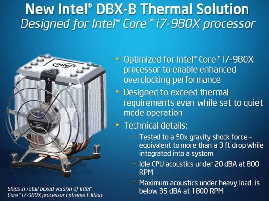 Intel DBX-B Thermal Solution