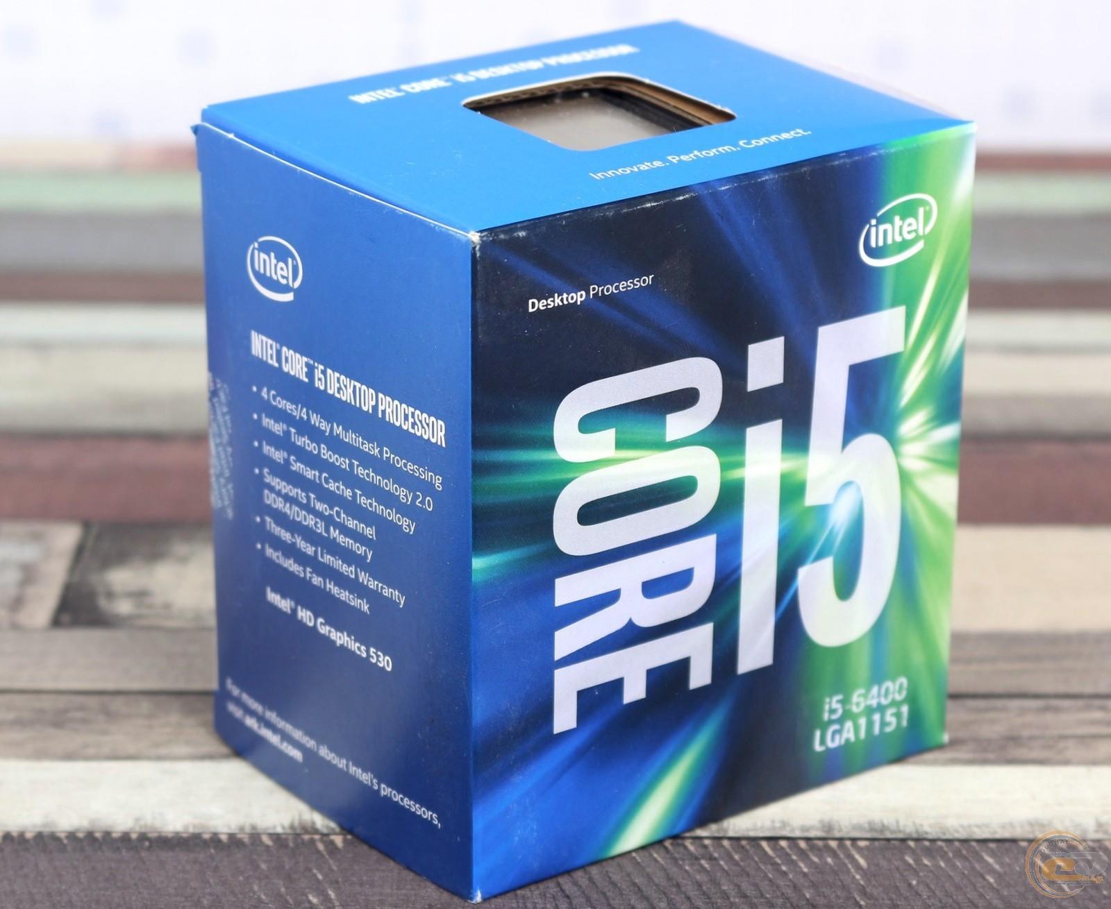 Intel Core I5 6400 1 27ghz Cache 6mb Box Socket Lga 1151 Skylake Series