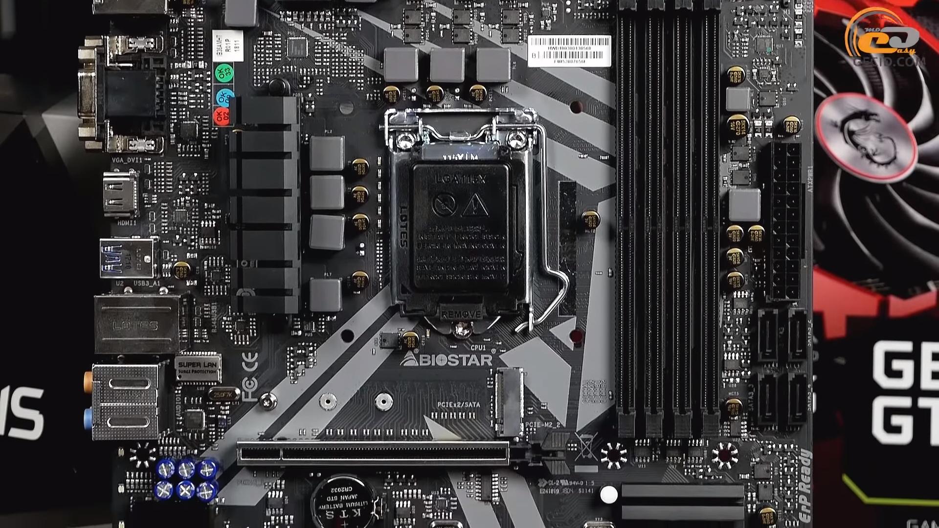 Сборка ПК на Intel Core i5-8400 + NVIDIA GeForce GTX 1070 Ti