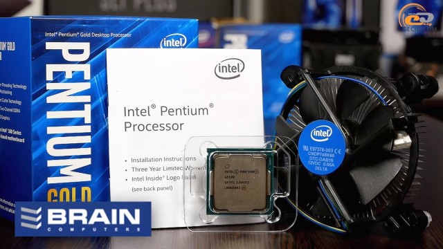 Intel Penitum Gold G5500