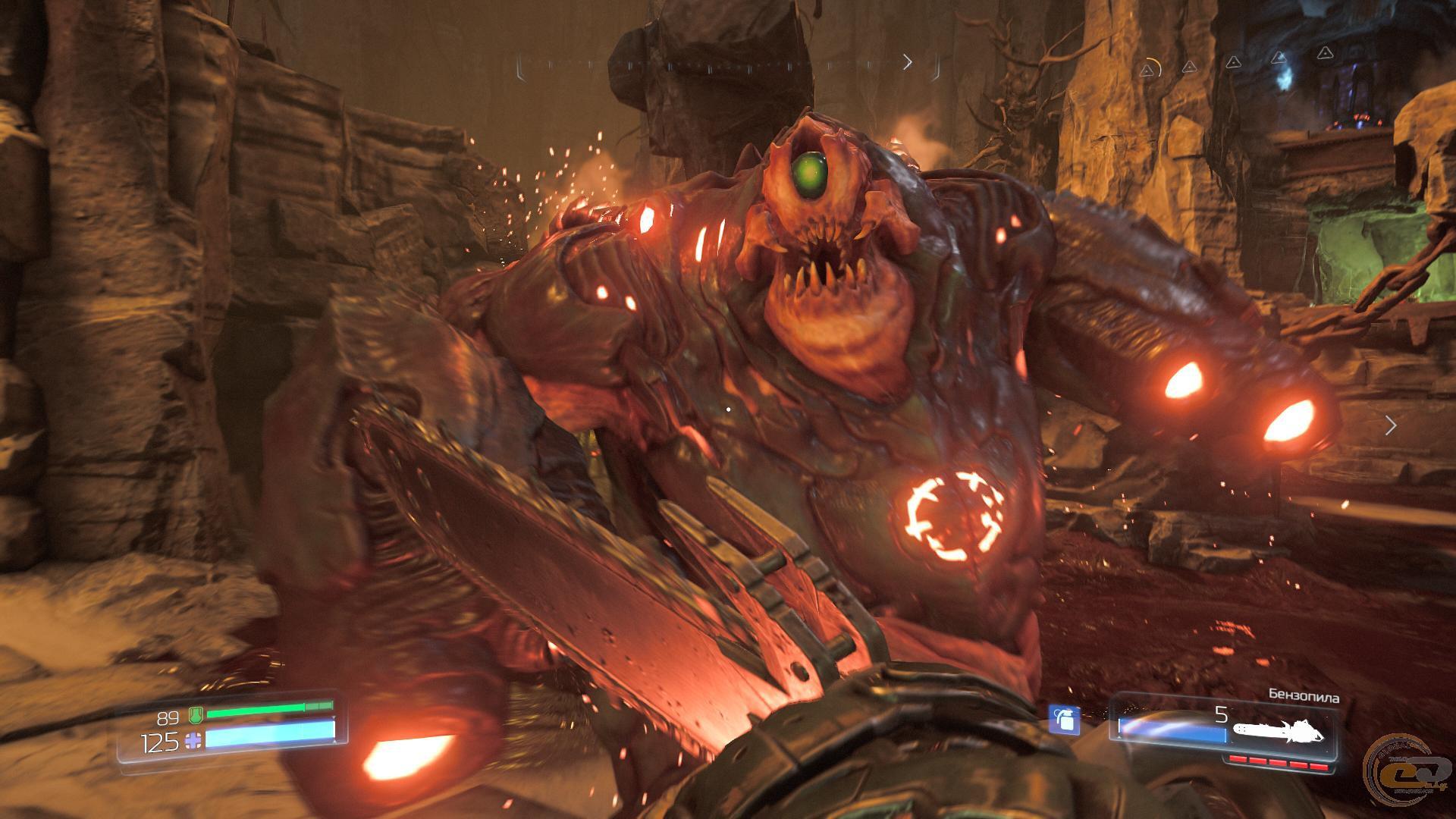 Doom рецензия на игру 2941