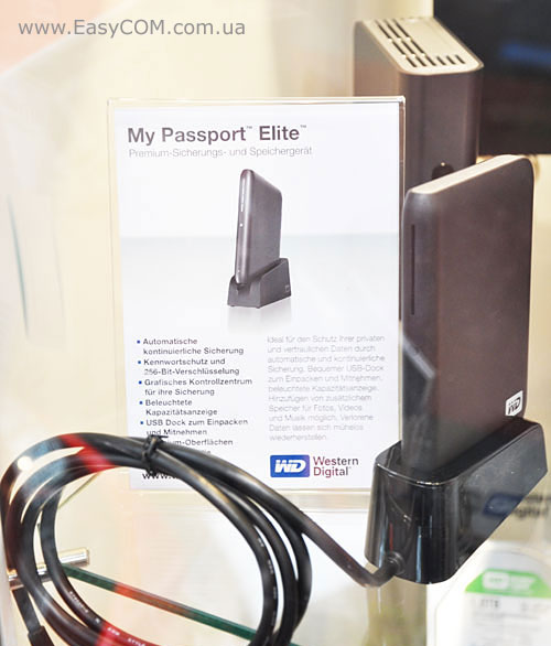 WD My Passport Elite
