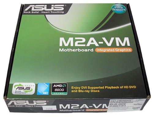 Материнская плата ASUS M2A-VM