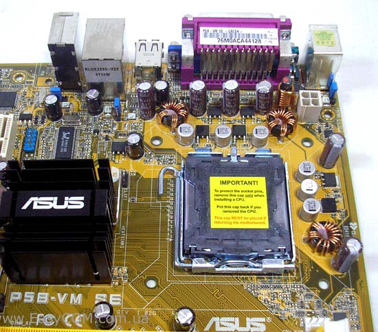 ASUS P5B-VM SE