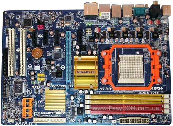 Gigabyte GA-MA770-S3P AMD Chipset Last