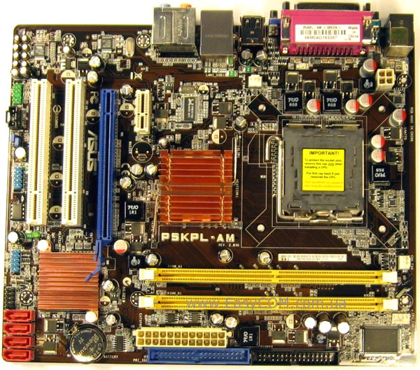 Asus P5KPL-AM IN Motherboard Drivers for Windows Mac
