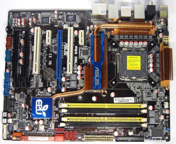 Asus p5q deluxe схема