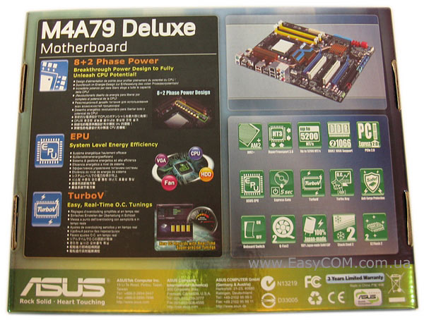 ASUS M4A79 Deluxe