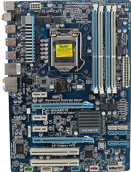 GIGABYTE GA-PH67-UD3 CLOUD OC DRIVER PC