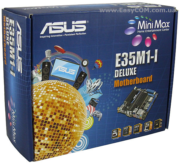 ASUS E35M1-I Deluxe