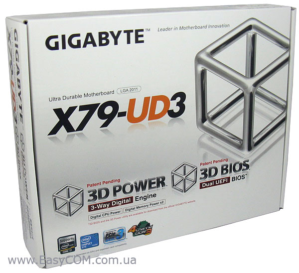 Gigabyte GA-X79-UD3 3D Power Drivers for Windows 7