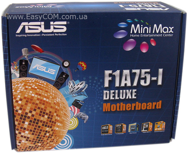 ASUS F1A75-I DELUXE