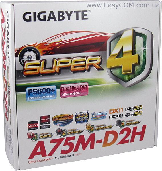 Gigabyte GA-A75M-D2H AutoGreen Drivers (2019)