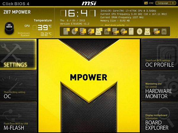 MSI Z87 MPOWER SP Lucid Virtu MVP Graphics Drivers PC
