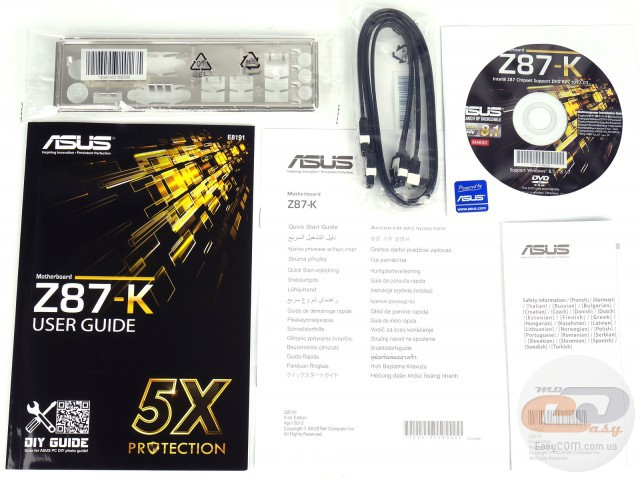 Asus Z87 K инструкция - фото 8