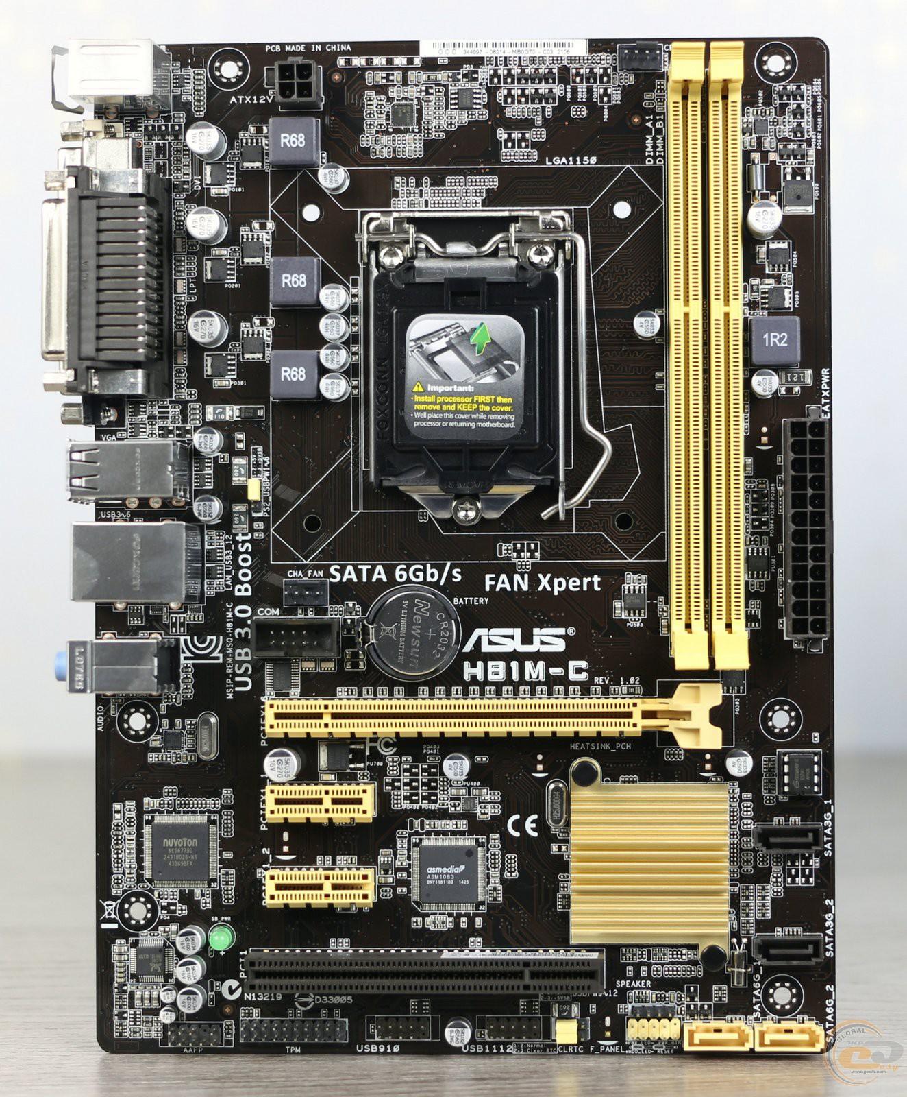 Asus H81M-C Drivers for Mac