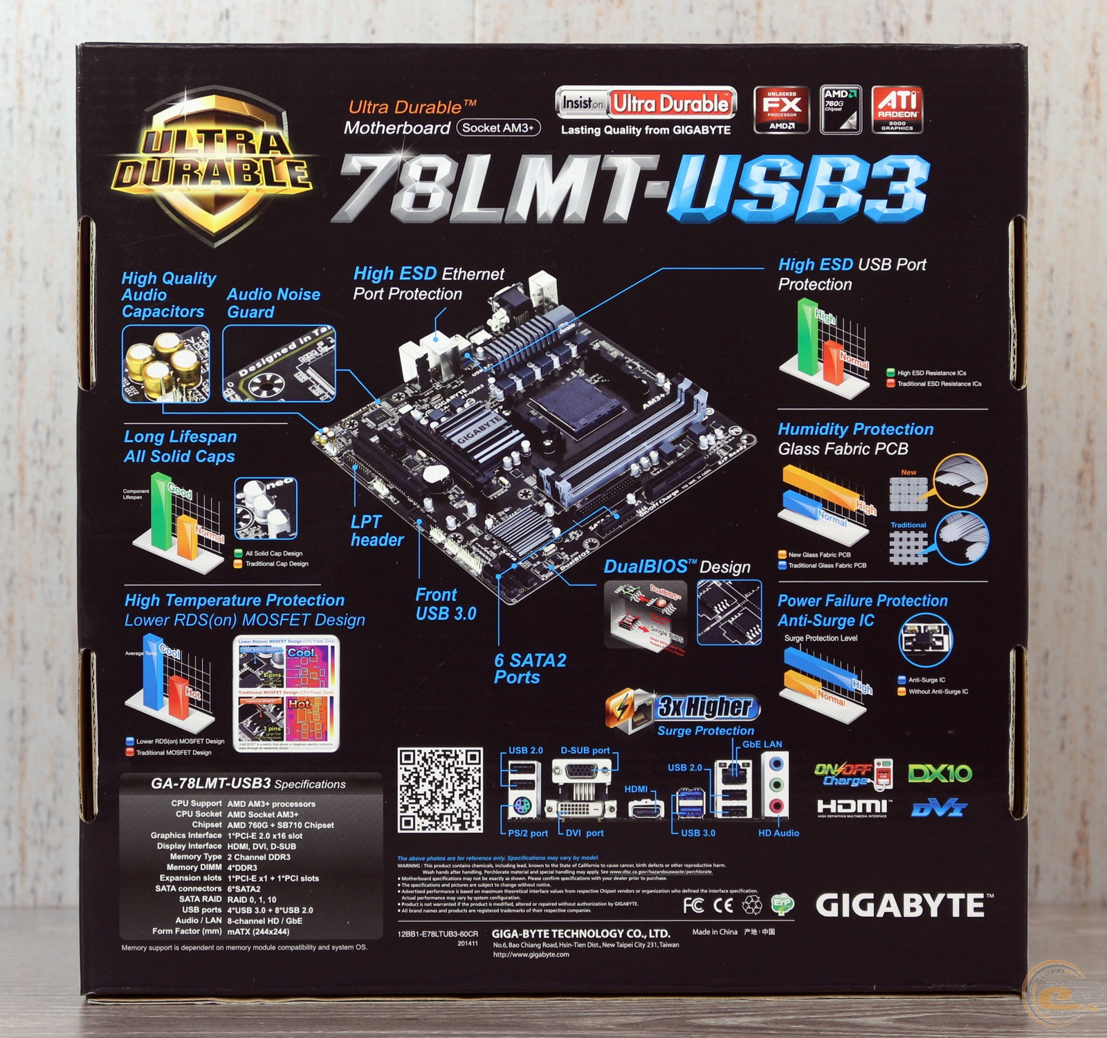 Gigabyte GA-MA78LMT-US2H AMD Easy Tune6 Driver PC