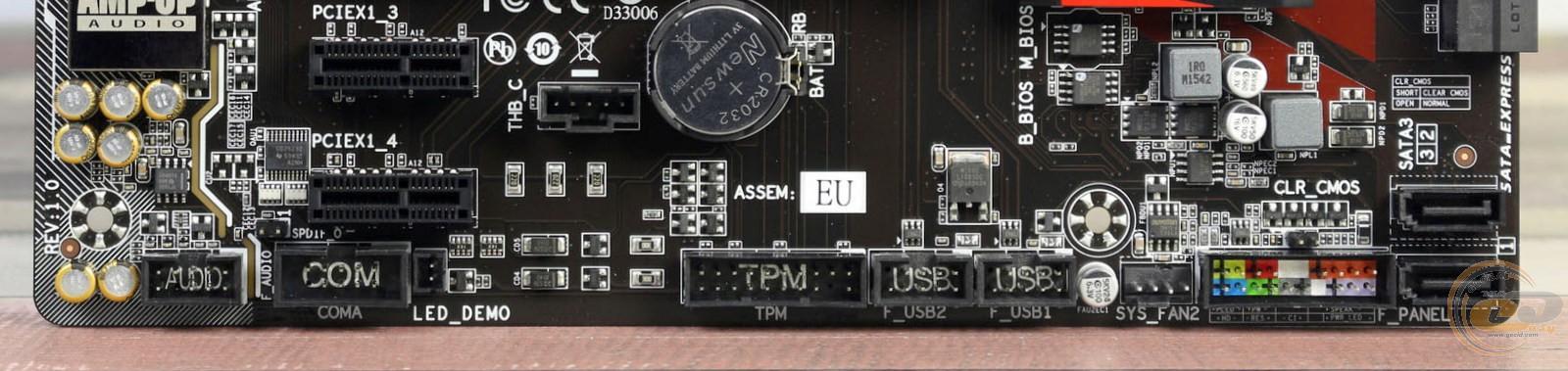 Gigabyte GA-Z170-Gaming K3-EU ASMedia USB 3 1 Driver