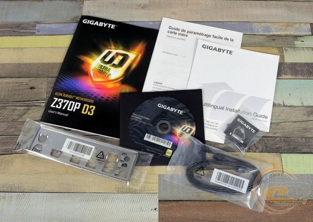 Gigabyte z370p d3 поддержка процессоров