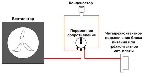 Схема включения следующая: