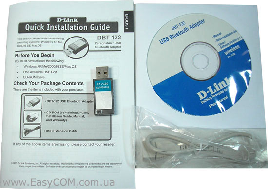 D-LINK DBT-122 USB BLUETOOTH DRIVERS FOR PC