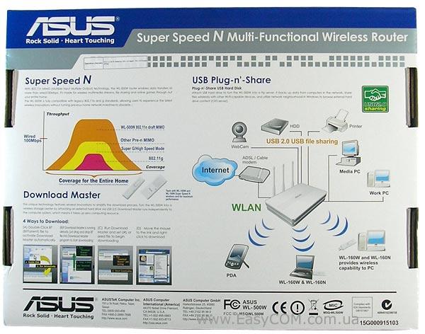 ASUS WL-500W