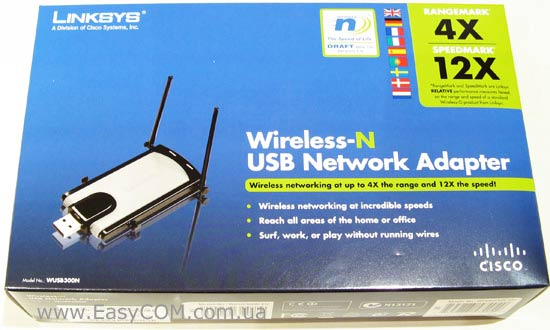 DRIVERS LINKSYS WUSB300N WIRELESS ADAPTER