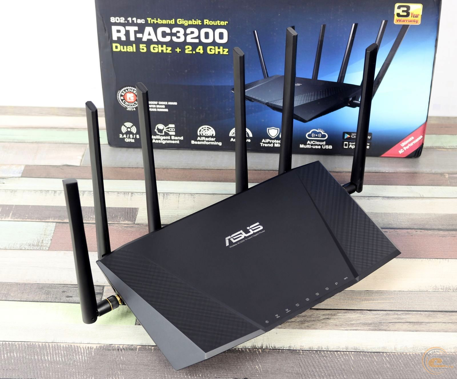 Asus Rt Ac3200 Tri Band Wireless Gigabit Router 1