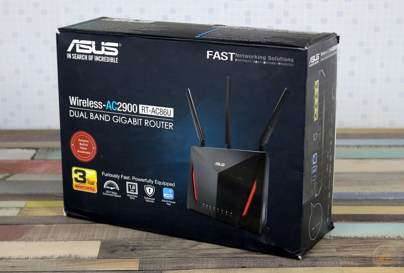 Обзор и тестирование беспроводного маршрутизатора ASUS RT
