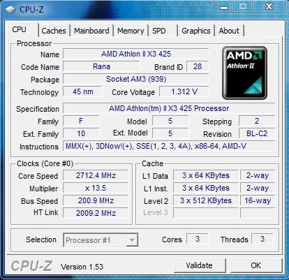 AMD ATHLON X3 425 DRIVERS UPDATE