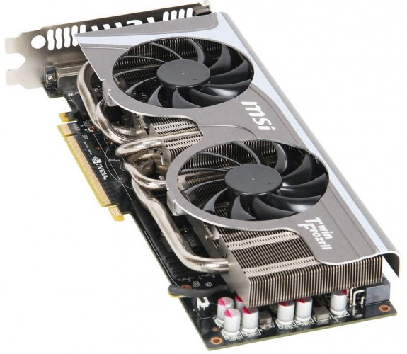 MSI GeForce GTX 570 Twin Frozr II
