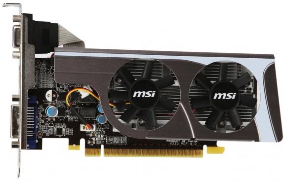 MSI N GT-MD1GD3/LP - graphics card - GF GT 440 - 1 GB ...