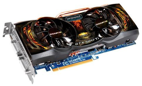 GIGABYTE GeForce GTX 560 Ti (GV-N560SO-1GI-950)