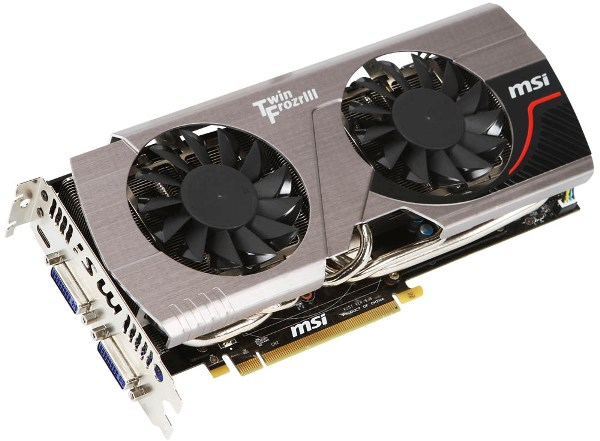 MSI N570GTX Twin Frozr III