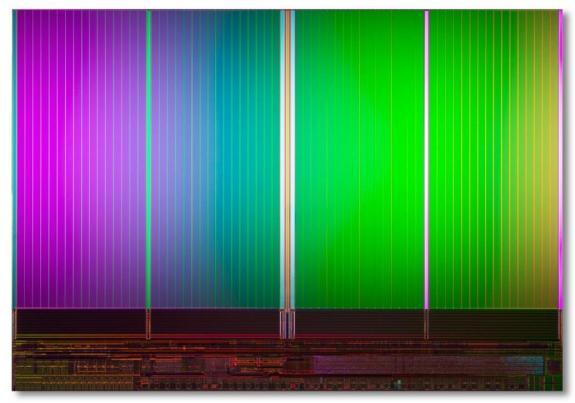 Новые 8 ГБ NAND флеш-чипы