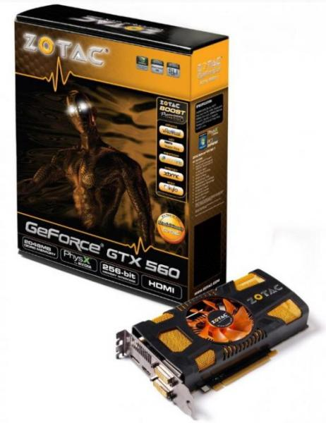 ZOTAC GeForce GTX 560 1GB