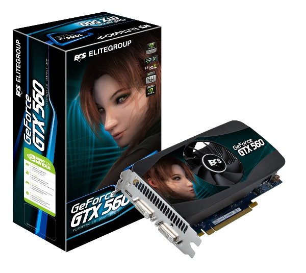 ECS GeForce GTX 560