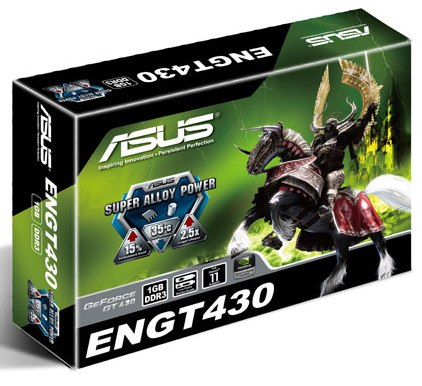 ASUS GeForce GT430 (ENGT430/DI/1GD3/MG(LP)