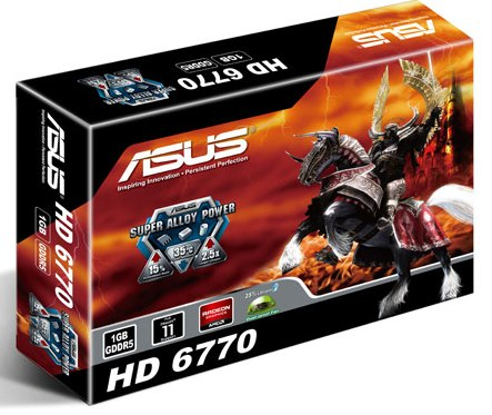 ASUS HD 6770 (EAH6770/DI/1GD5)
