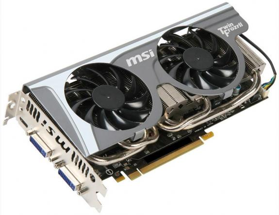 MSI N560GTX-Ti Twin Frozr II 2GD5
