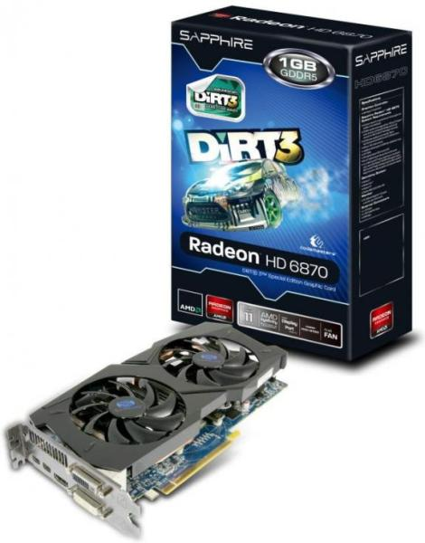 SAPPHIRE HD 6870 Dirt3 Special Edition