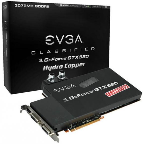EVGA GeForce GTX 580 Classified