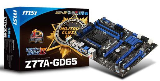 MSI Z77A-GD65 Lucid Virtu MVP XP