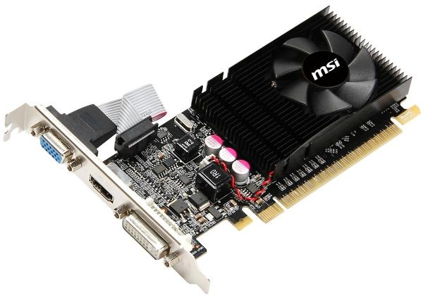 MSI GeForce GT610 (N610GT-MD1GD3/LP) и MSI GeForce GT610 (N610GT-MD2GD3/LP)